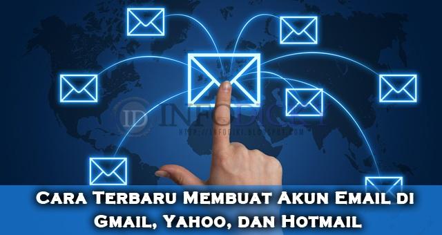 Cara Terbaru Membuat Akun Email di Gmail, Yahoo, dan Hotmail
