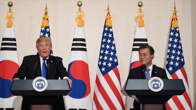 Trump exige respuesta mundial a amenaza mundial de Pyongyang 