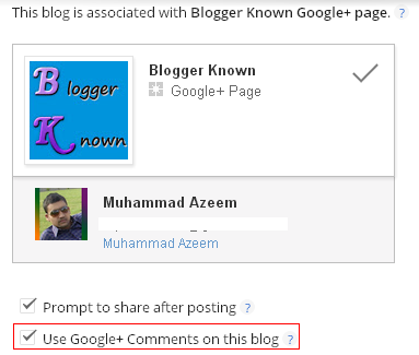 Google+ comments enable