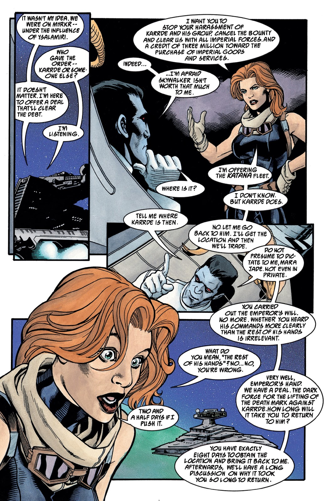 Read online Star Wars Legends: The New Republic - Epic Collection comic -  Issue # TPB 4 (Part 3) - 30