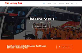 The Luxury Bus adalah PO Bus Pariwisata di Bandung