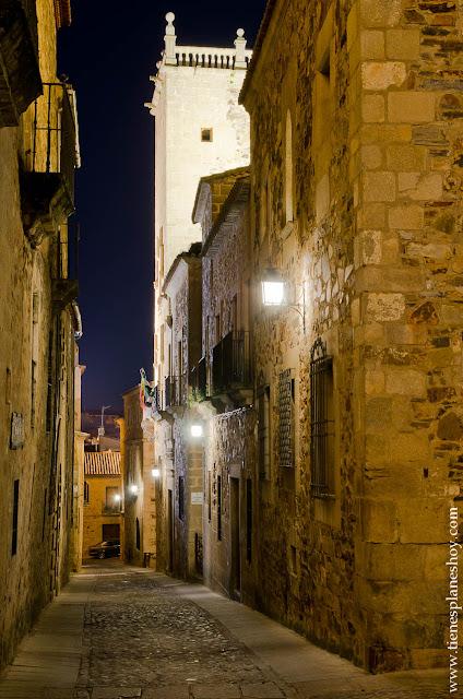 Noche Cáceres