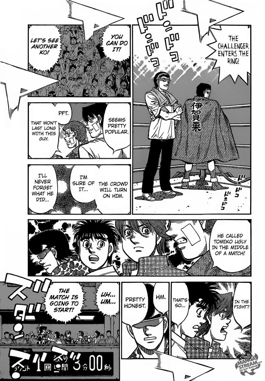 Hajime no Ippo - Chapter 1140