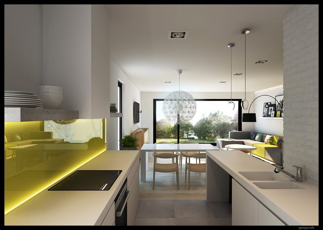 Classy modern interiors visualized by greg magierowsky