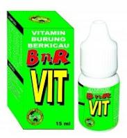 Harga Vitamin Burung Merk BnR Vit Terbaru Saat Ini 2017
