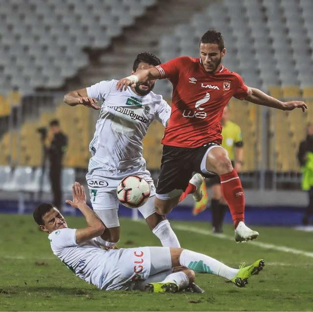 """الأهلى يحقق فوز قاتل """"+90"""" على الإتحاد السكندرى فى مباراة صعبة"""