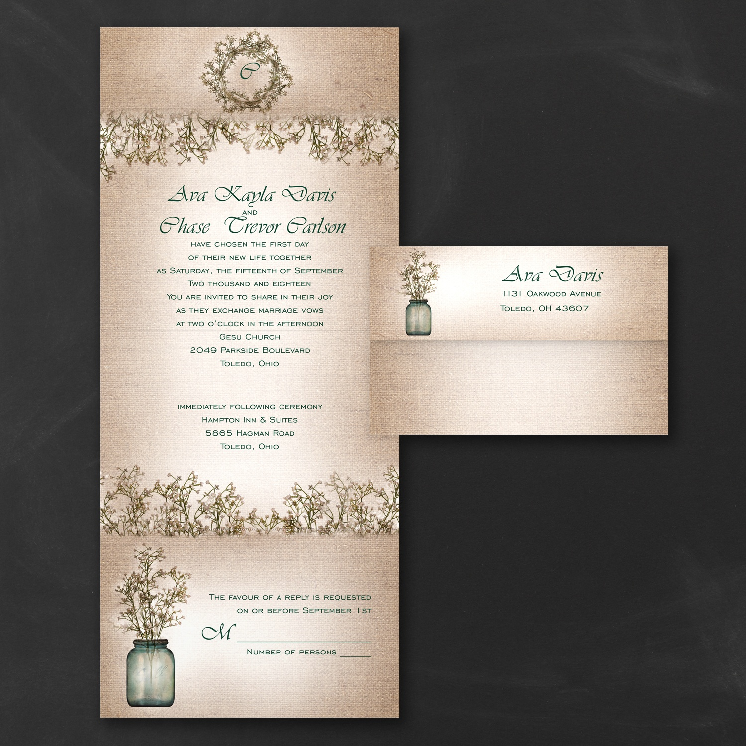 Occasions To Blog: Budget Friendly Wedding Invitations