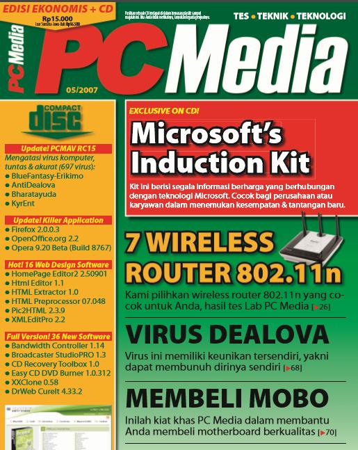 Download pdf Majalah PC MEDIA Edisi 2007 Terlaris