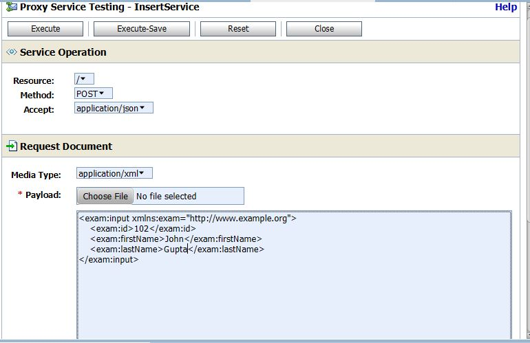 Ankur's blog: Oracle Service Bus : Insert operation using