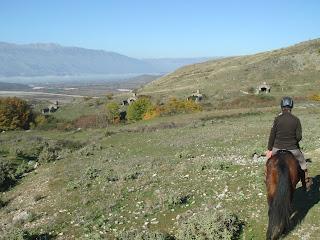 Albania, Hoxha, bunkkeri, ratsastusmatka