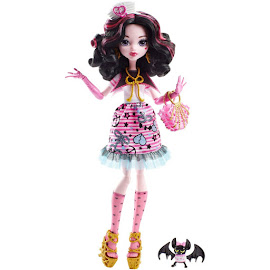 MH Shriek Wrecked Draculaura Doll