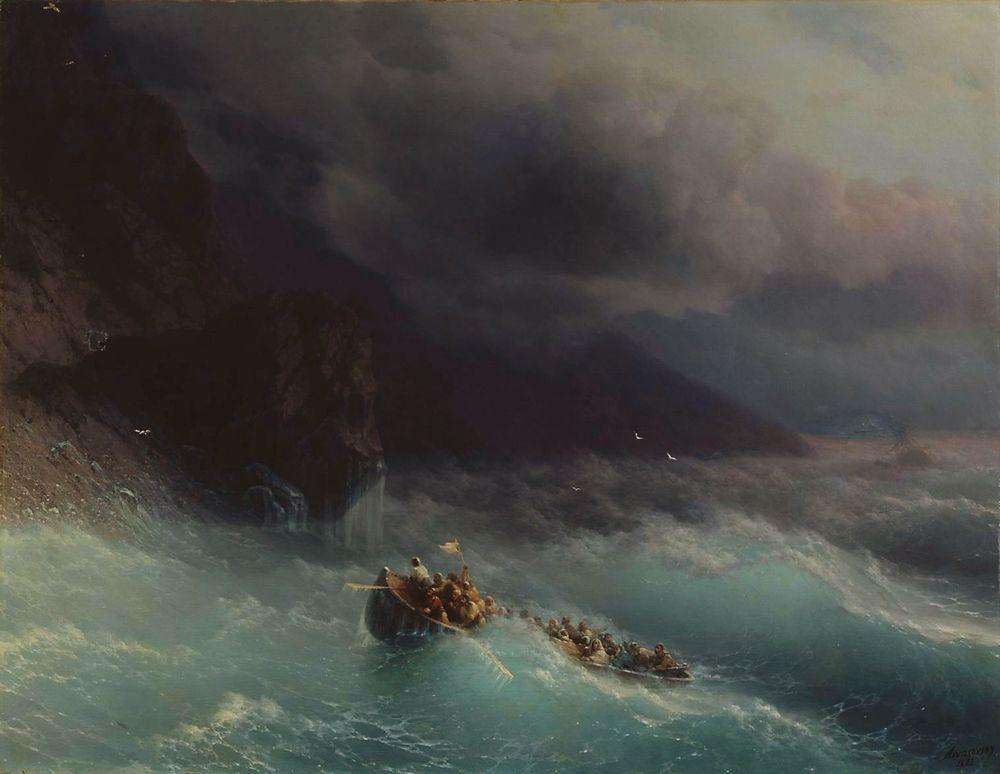 09-Storm-Black-Sea-1873-Ivan-K-Aivazovsky-Иван-К-Айвазовский-Paintings-of-the-Sea-from-1840-to-1900-www-designstack-co