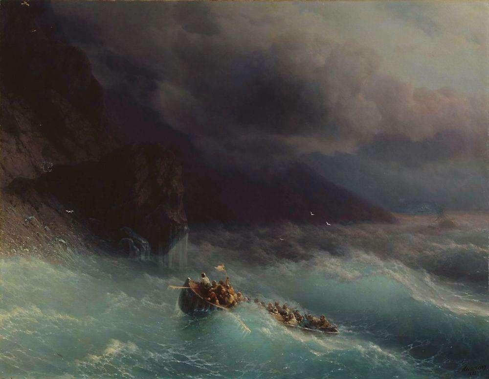 09-Storm-Black-Sea-1873-Ivan-K-Aivazovsky-Иван-К-Айвазовский-Paintings-of-the-Sea-from-1840-to-1900-www-designstack-co