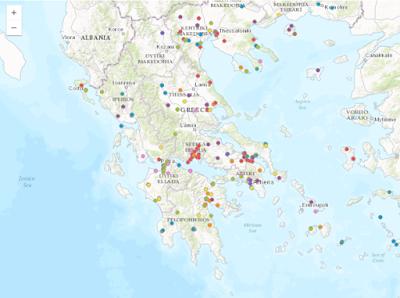 Ο Άτλας Κεραμικών Κλιβάνων της Αρχαίας Ελλάδας στο διαδίκτυο