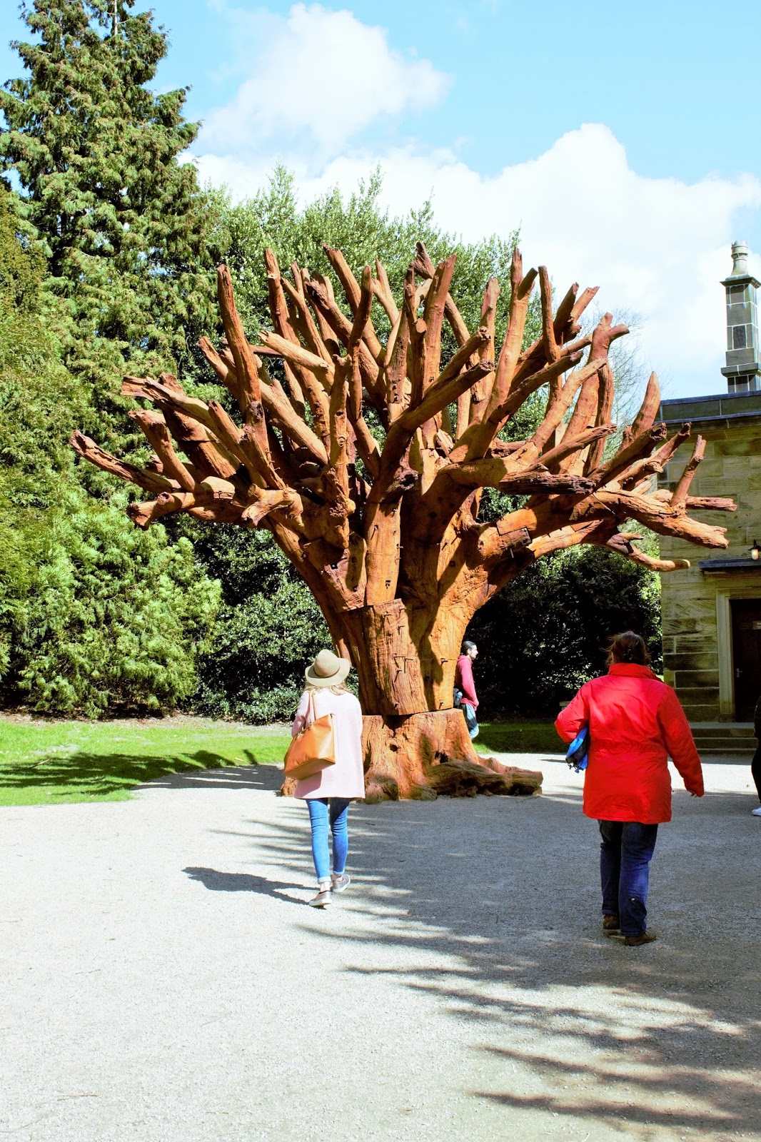 The Iron Tree by Ai Weiwei at the Yorkshire Sculpture Park