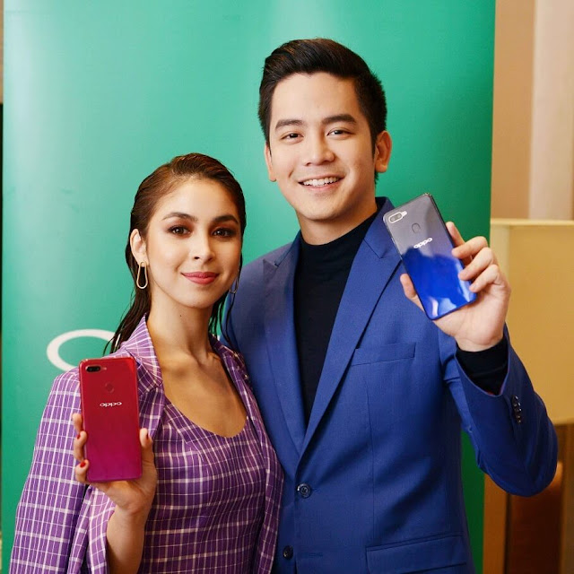 OPPO endorsers Julia Barretto and Joshua Garcia