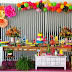 Festa de 15 anos com decoração tropical!