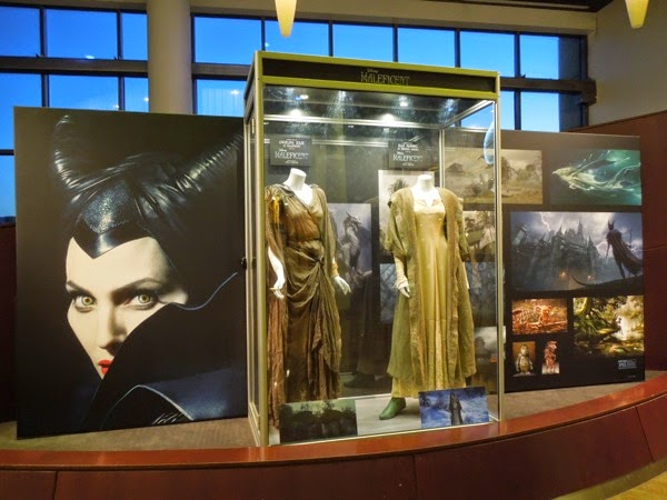 Maleficent movie costume exhibit ArcLight Sherman Oaks