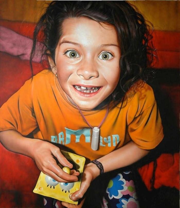 Реалистичные картины. Victor Rodriguez 11