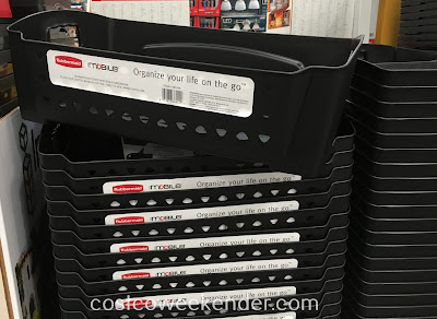 Organize your life, or at least your car, with the Rubbermaid Wide Cargo Bin