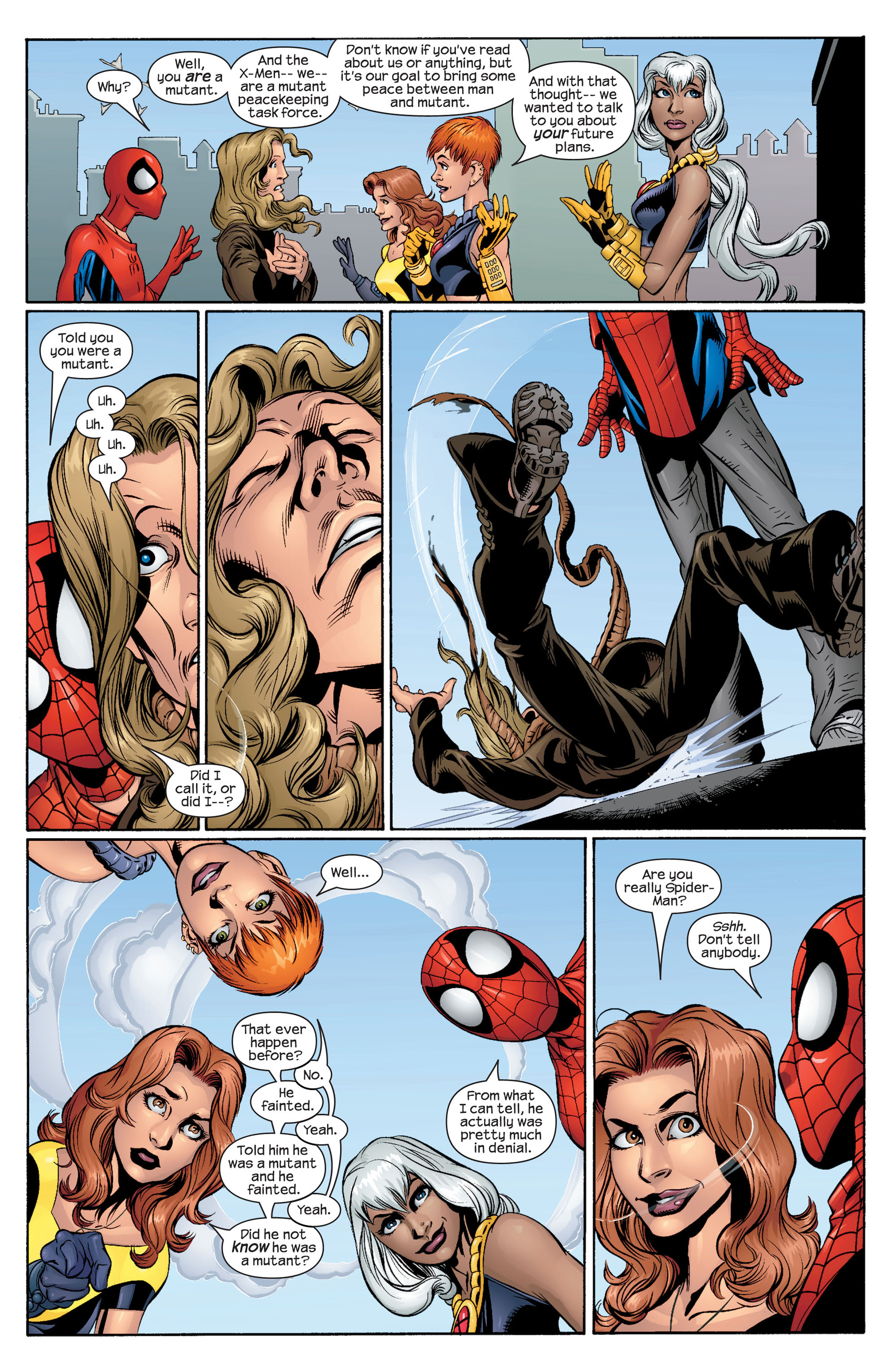 Read online Ultimate Spider-Man (2000) comic -  Issue #43 - 6