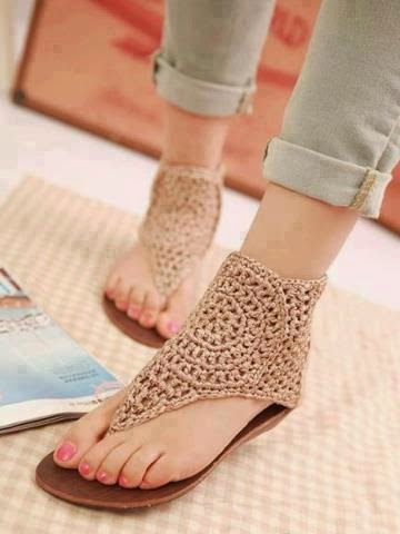 Its All About Fashion Stylish Flat Sandals For Girls