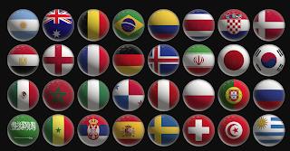 Ini Dia 32 Bendera Negara yang Akan Bertanding di Piala Dunia 2018 Rusia