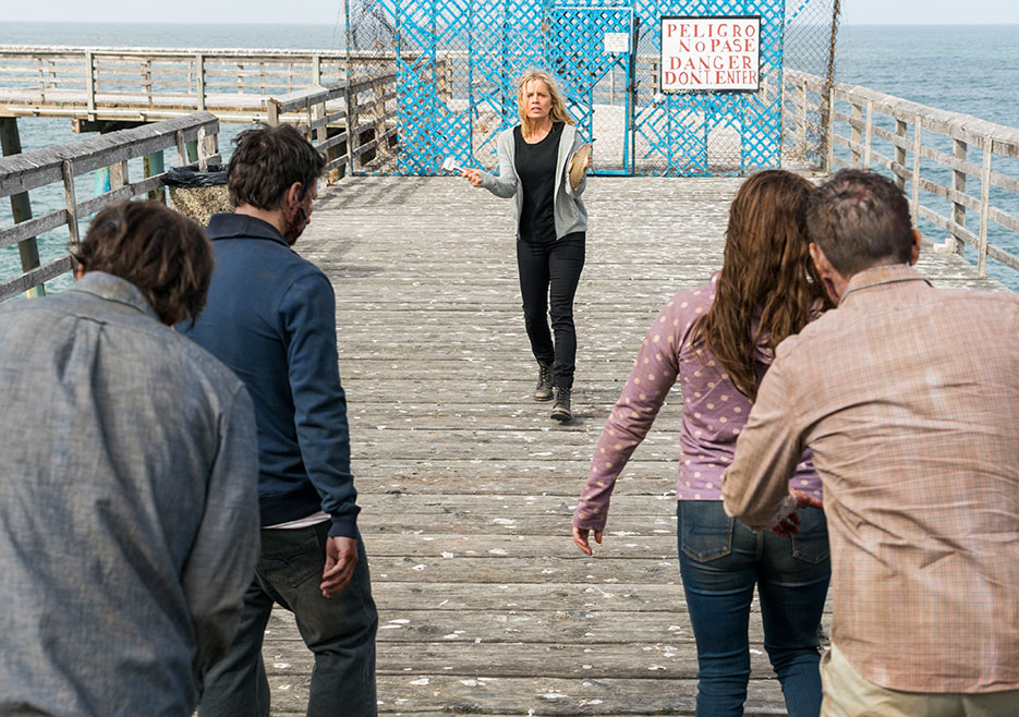 Fear The Walking Dead AMC Pablo & Jessica 2x11