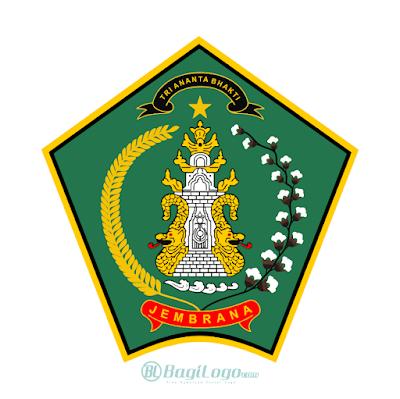 Kabupaten Jembrana Logo Vector