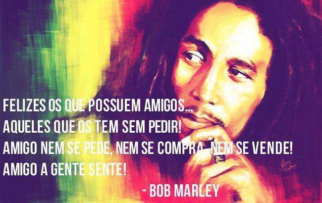 Fraces De Bob Marley: Mensagens Boas Festas: Mensagem Bob Marley