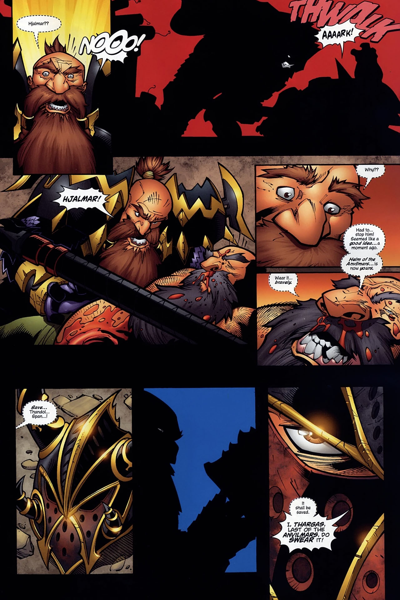 Read online World of Warcraft comic -  Issue #10 - 20