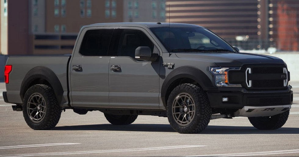Ford F-150 RTR Muscle Truck Concept Unveiled With 600+ HP