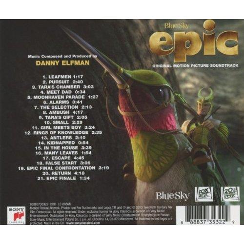 Epic el reino secreto banda sonora pelicula trailer for Banda sonora de el jardin secreto
