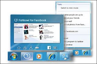 Mengintegrasi FB dengan desktop menggunakan Fishbowl