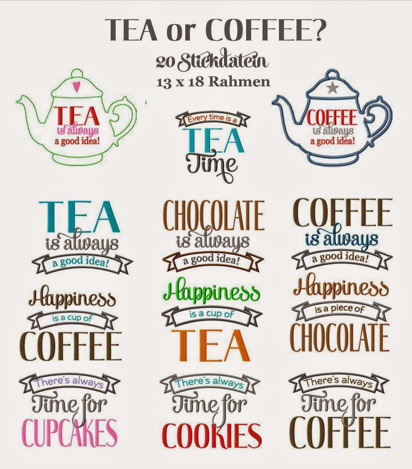 TEA or COFFEE
