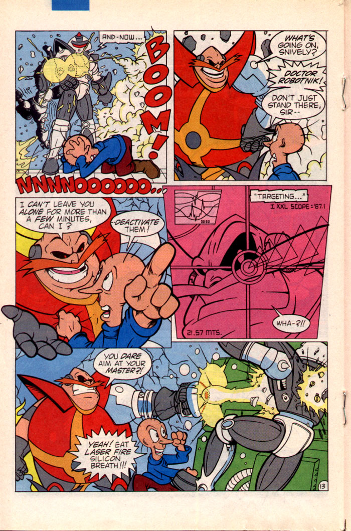 Read online Sonic The Hedgehog comic -  Issue #22 - 15