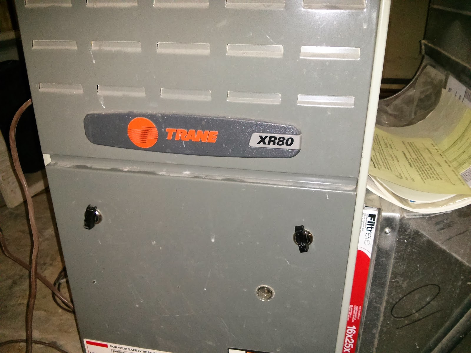 Trane Xr80 Furnace Problems Vs Nest Thermostat This House Needs Work Circuit Board Wiring The