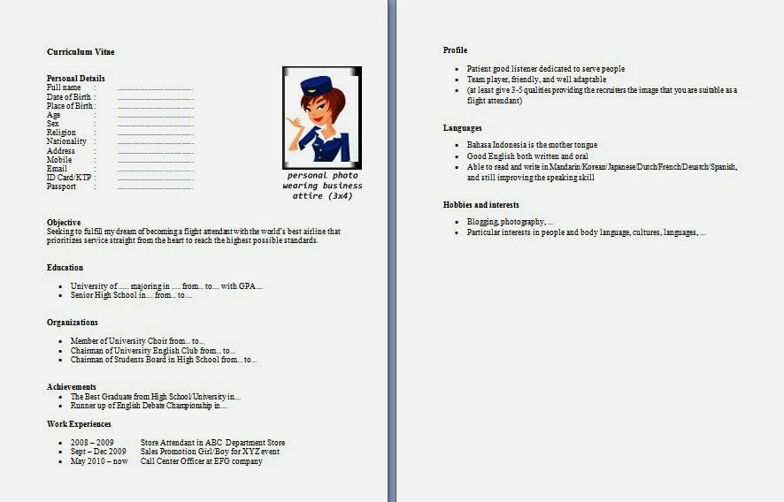 Template Curriculum Vitae Word Bahasa Indonesia لم يسبق له مثيل
