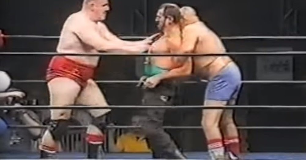 Worst in the World: The Bushwhackers vs Iron Sheik & Nikolai Volkoff-Heroes of Wrestling