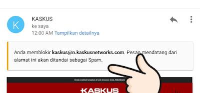 Cara Hentikan Email Mengganggu yang Masuk Ke GMAIL