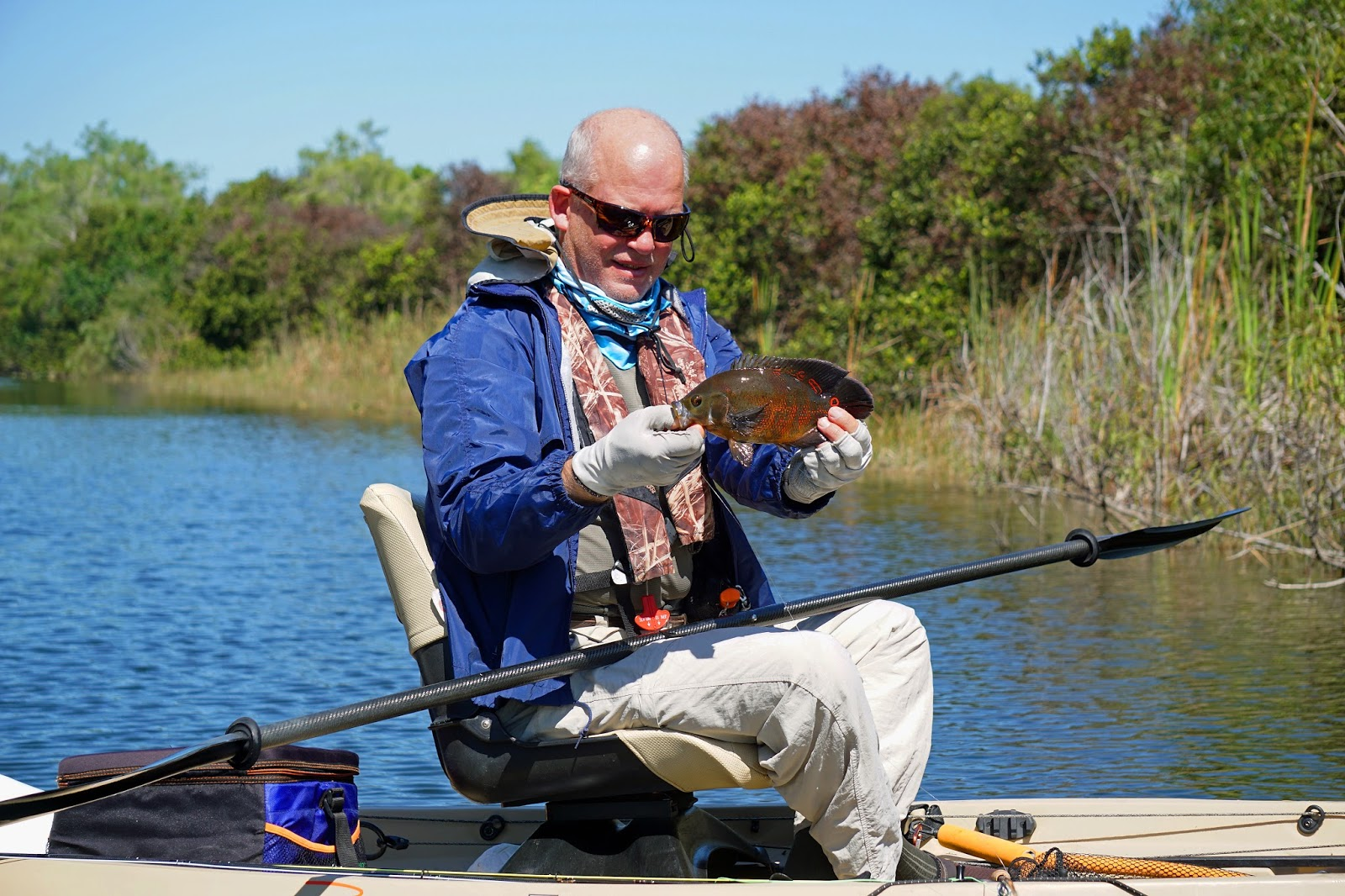 Southern kayak kronicles for Tenoroc fish management area