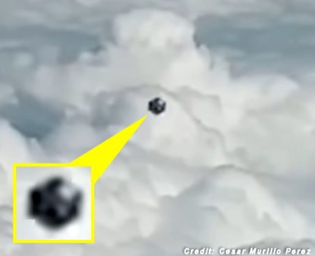 Pilot Films UFO Flying Near Plane - Medellin, Columbia Jan. 2020