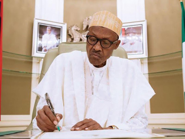 Buhari writes Senate