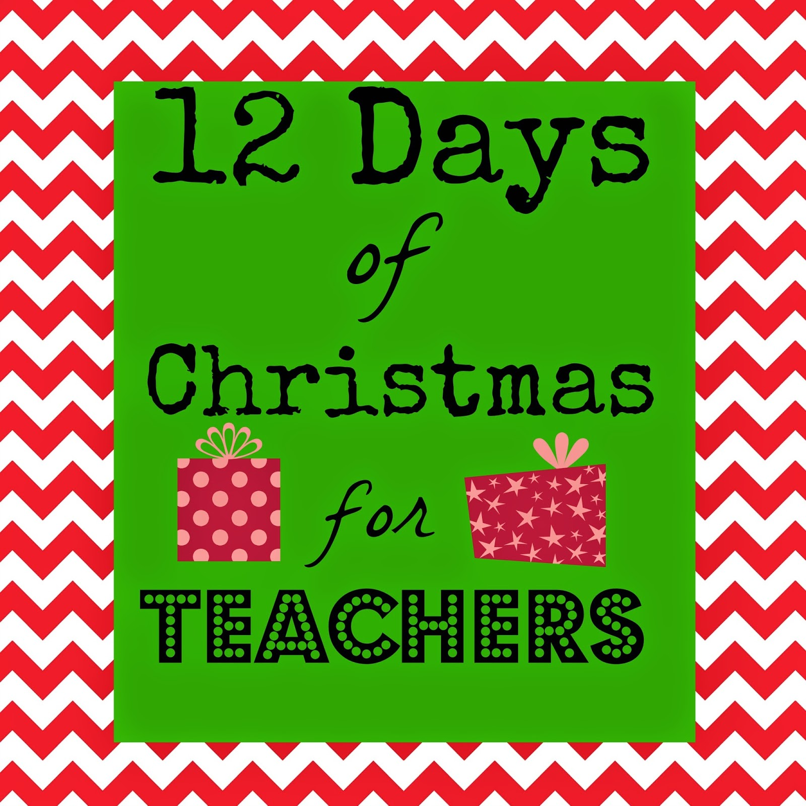 Marci Coombs 12 Days Of Christmas For Teachers