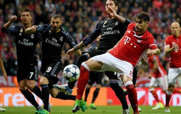 Real Madrid vs Bayern Munchen