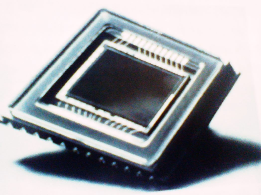 Gambar CCD/Charge Couple Device Digital Camera.