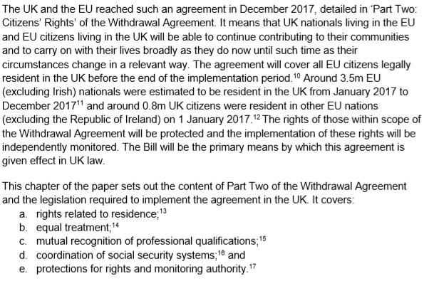Law And Lawyers Notes On The Withdrawal Agreement White Paper 24 July