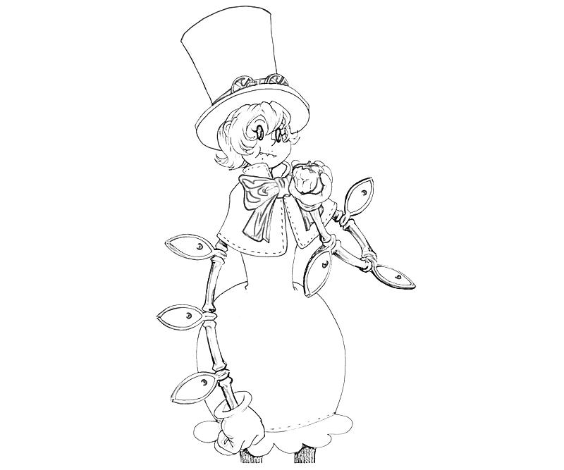 Skull girls characters coloring pages ~ Skullgirls Peacock Action | Mario