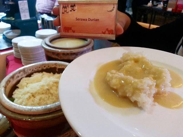 SERAWA DURIAN,Buffet Ramadhan di Seri Pacific Hotel Kuala Lumpur