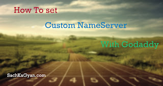 How To set custom nameserver with godaddy In Hindi